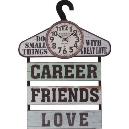 RELOJ CON PERCHA FRIENDS