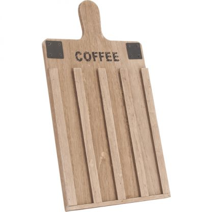 TABLA PARA CÁPSULAS DE CAFÉ