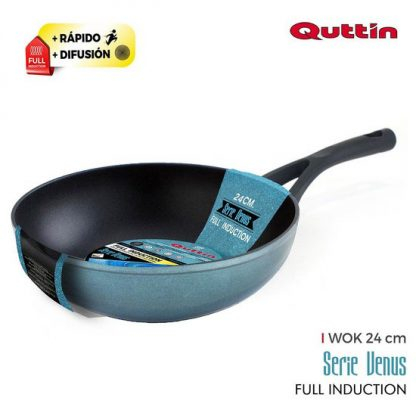 SARTÉN WOK 24CM FULL INDUCTION